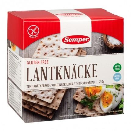 2 x Semper Gluteeniton ohut näkkileipä
