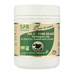 SFB, JUS D'HERBE DE BLÉ POUDRE