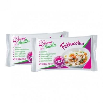 2 x Skinny Noodles Fettucine