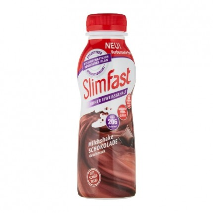 3 x SlimFast Milchshake Schokolade