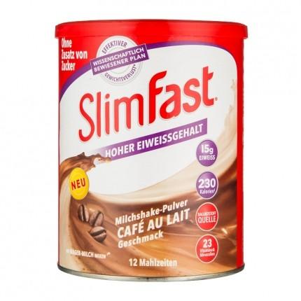 SlimFast Milchshake, Café au Lait, Pulver