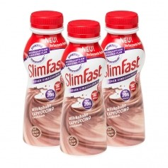 3 x SlimFast Milchshake Cappuccino