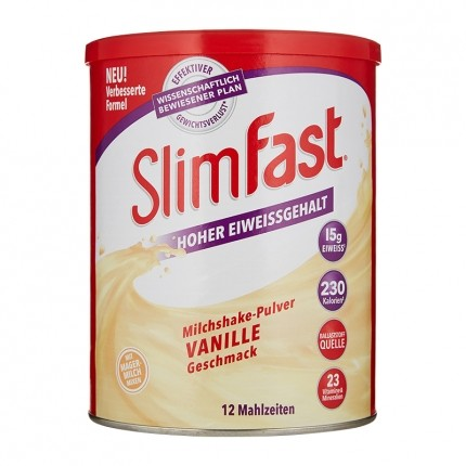 SlimFast Milchshake-Pulver Vanille