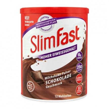 slimfast poudre de milkshake chocolat chez nu3. Black Bedroom Furniture Sets. Home Design Ideas