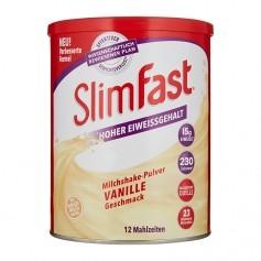 SlimFast Milkshake-Pulver Vanilj