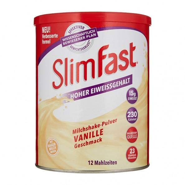 SlimFast Milkshake Powder Vanilla - Lose weight with nu3!