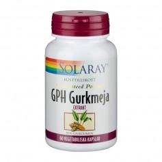 Solaray Solaray GPH Gurkmeja 60t veg