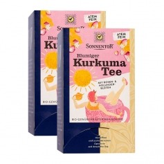 Sonnentor Bio Blumiger Kurkuma Tee