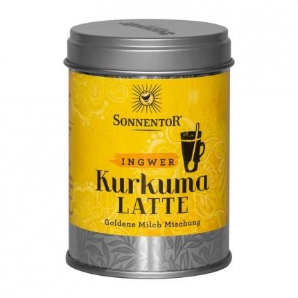 Sonnentor Bio Kurkuma Latte, Ingwer, Pulver (60 g)