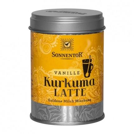 Sonnentor Bio Kurkuma Latte, Vanille, Pulver (60 g)