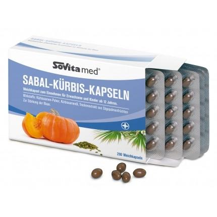 Sovita Sabal Pumpkin Capsules