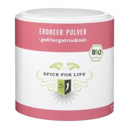 Spice for Life Bio Fruchtpulver Erdbeer