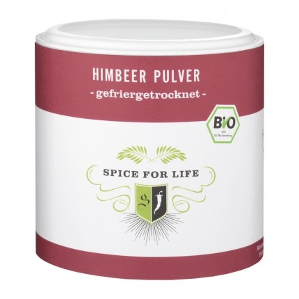 Spice for Life Bio-Fruchtpulver Himbeer