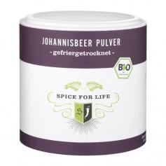 Spice for Life Bio-Fruchtpulver Johannisbeer