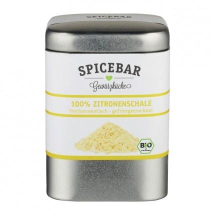 Spicebar Bio Zitronenschalenpulver (35 g)