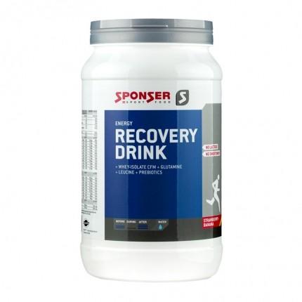 Sponser Recovery Drink Erdbeere-Banane, Trinkgranulat