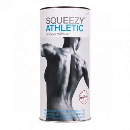 Squeezy Athletic, Schokolade, Pulver