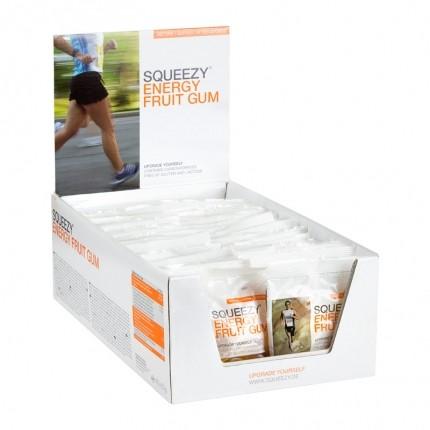 Squeezy Energy Fruit Gum Box