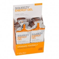 Squeezy Energy Gel Box, banan
