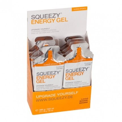 Squeezy Energy Gel Box Banan