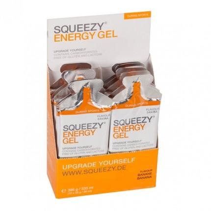 Squeezy, Energy gel box banane