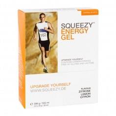 Squeezy Energy Gel Box, citron