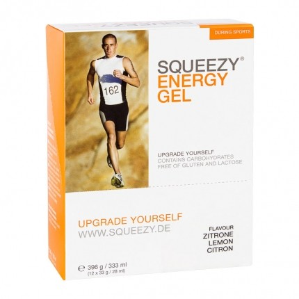 Squeezy Energy Gel Box Citron