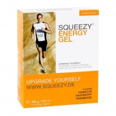 Squeezy Energy Gel Box Hindbær