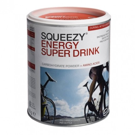 Squeezy Energy Super Drink, Pulver