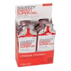 Squeezy Energy Super Gel Box Zitrone + Koffein
