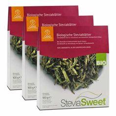 3 x SteviaSweet Bio, Blätter