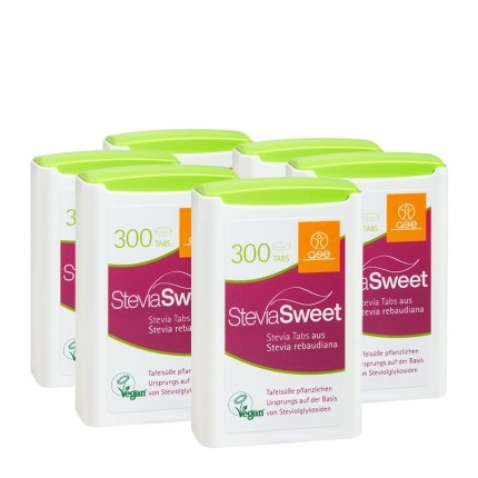 6 x SteviaSweet, Tabs