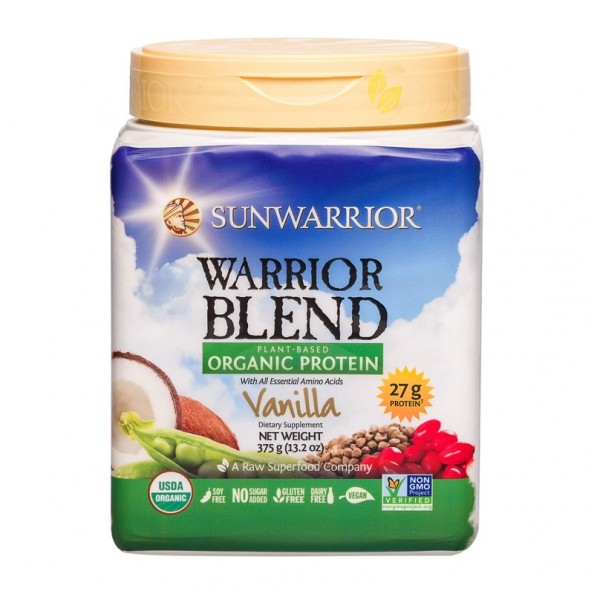 Sun Warrior Protein Raw Vegan Natural Reviews