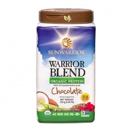Sunwarrior Bio Warrior Blend, Schokolade, Pulve...