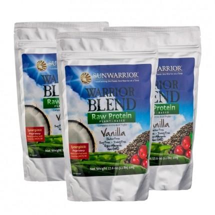 Sunwarrior Blend Vanilje, pulver