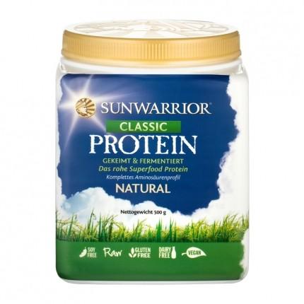 Sunwarrior Classic Protein, Natural, Pulver