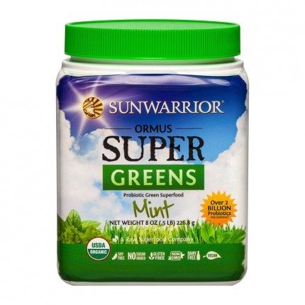 Sun Warrior Ormus Supergreens, Pulver