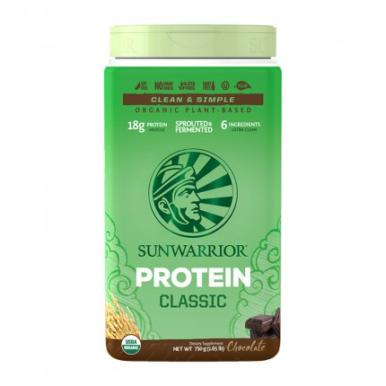 Sun Warrior Reis Protein Schoko, Pulver