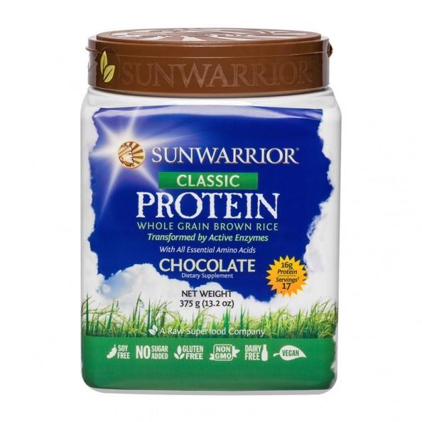 Sunwarrior riz prot ines schoko 1000 g chez nu3 for Poudre de riz cuisine