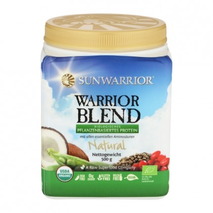 Sunwarrior Warrior Blend, Natural, Pulver