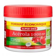 Acerola 1000 Vitamine C, 60 comprimés
