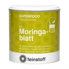 Feinstoff Superfood Moringablatt, Pulver