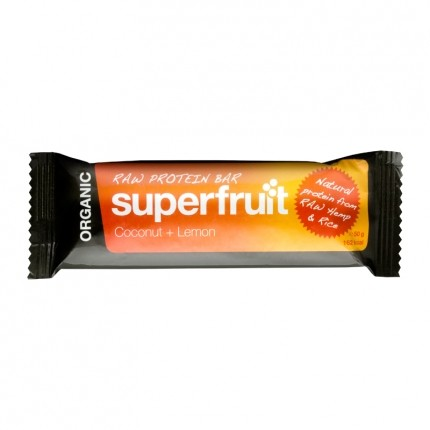 5 x Superfruit Raw Protein Bar Kokos-Zitrone, Riegel