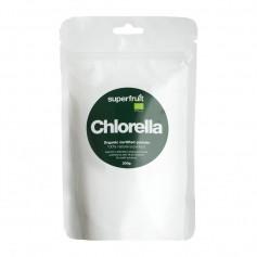 Superfruit Chlorella Pulver