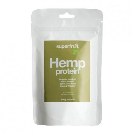 Superfruit Hamp Protein, Pulver