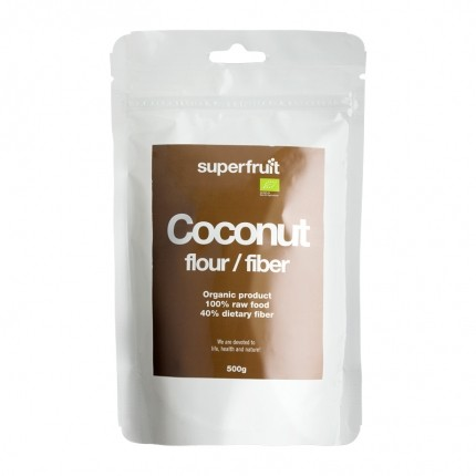 Superfruit Coconut Flour 500g - EU Organic (replaces art 430)