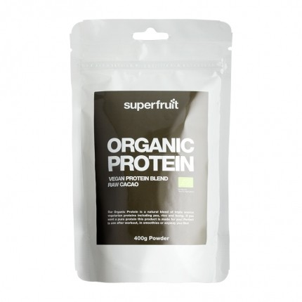 Superfruit Organic Protein Raw Cacao, Pulver