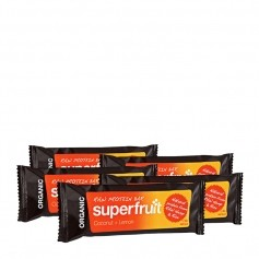 5 x Superfruit Raw Protein Bar Kokos-Zitrone, Riegel