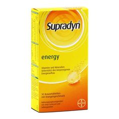 Supradyn Effervescent tablets