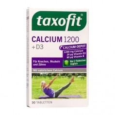Taxofit Calcium 850 + D3 + Vitamin K1 + Fluor + Folsäure, Tabletten